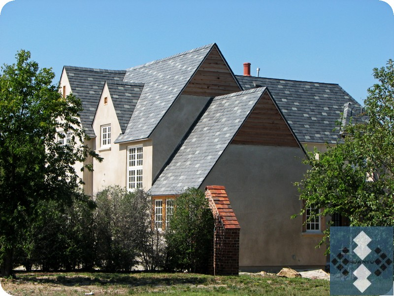 Gray & Green Slate Roof Projec...
